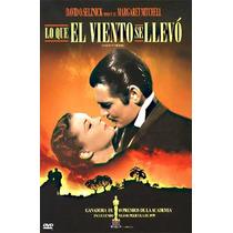 Gone Whit The Wind Dvd Lo Que El Viento Se Llevo