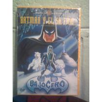 Dvd Batman Bajo Cero Señor Frio Caricatura Anime Dc Comics