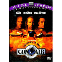 Dvd Riesgo En El Aire ( Con Air ) 1997 - Simon West / Nicola