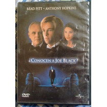 ¿conocen A Joe Black? - Brad Pitt, Anthony Hopkins - Dvd