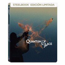 007 Quantum Of Solace James Bond Steelbook Pelicula Blu-ray