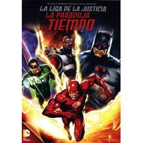 La Liga De La Justicia. Paradoja Del Tiempo Pelicula En Dvd