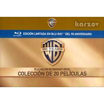 Warner Bros. Coleccion 20 Peliculas 90 Aniversario, Blu-ray