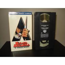 Pelicula Vhs La Naranja Mecanica Stanley Kubrick Warner Bros