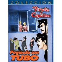 Dvd Cine Mexicano Viruta Y Capulina Pegando Con Tubo Tampico