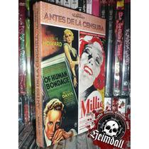 Antes De La Censura 2 Dvd + Libreto Of Human Bondage Millie