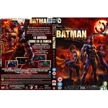 Dvd Anime Dc Comics Batman Mala Sangre Bad Blood Tampico2016
