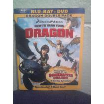 Blu Ray Como Entrenar A Tu Dragón 1 En Español Pixar Disney