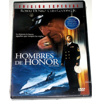 Dvd: Hombres De Honor (2000) Robert De Niro, Cuba Gooding Jr