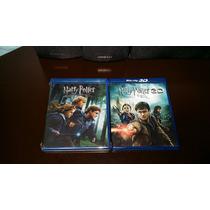 Harry Potter Y Las Reliquias De La Muerte Parte 1 Y 2 3d