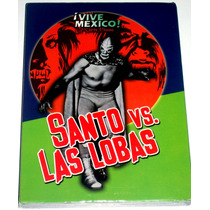 Dvd: Santo El Enmascarado De Plata Vs Las Lobas (1972) Op4