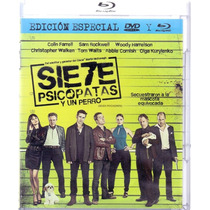 Siete Psicopatas Y Un Perro Comedia Pelicula Blu-ray + Dvd