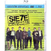 Siete Psicopatas Y Un Perro Cine Comedia Blu-ray + Dvd