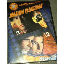 Dvd Doble Máxima Velocidad Speed Keanu Reeves Sandra Bullock