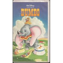 Vhs Dumbo (1941) Pelicula Animada Walt Disney
