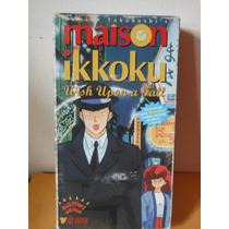 Maison Ikkoku Wish Upon A Fall Pelicula Anime Vhs Manga