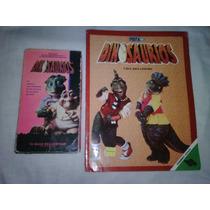 Combo Pelicula Vhs Dinosaurios Libro Fernandez Editores