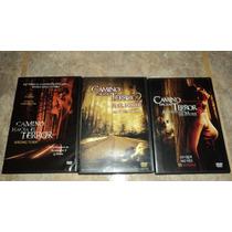 Dvd Camino Hacia El Terror 1 2 Y 3 Wrong Turn *precio X Las3