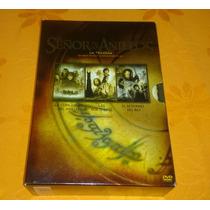 Box Set Trilogía El Señor De Los Anillos En Dvd