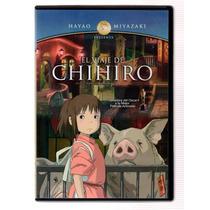 Hayao Miyazaki El Viaje De Chihiro Pelicula Dvd