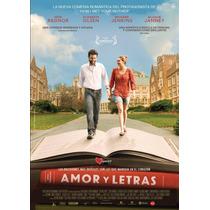 Amor Y Letras Liberal Arts Josh Radnor , Pelicula En Dvd