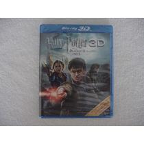 Harry Potter Y Las Reliquias De La Muerte Parte 2 Blu Ray 3d