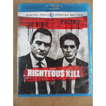 Righteous Kill Blu Ray Import Movie Robert De Niro Al Pacino