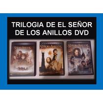 Trilogía De El Señor De Los Anillos Dvd Versión 6 Discos