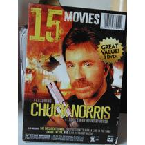 Set De 15 Peliculas Chuck Norris Y Steven Seagal Import
