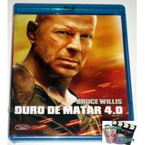 Blu-ray Duro De Matar / Die Hard 4.0 2007, Bruce Willis! Omm
