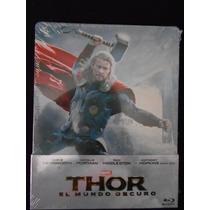 Thor 2: Dark World Bluray Limited Edition Steelbook Nuevo