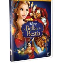 La Bella Y La Bestia De Disney En Dvd Clasicos Nueva Lbf