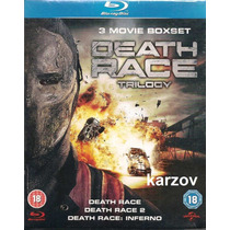 Death Race Trilogy 3 Movie Boxset En Blu-ray