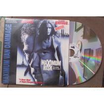 Van Damme En: Maximum Risk Laser Disc