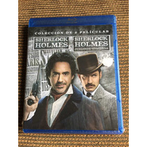 Sherlock Holmes 1 Y 2 Juego De Sombras - Robert Downey Jr.