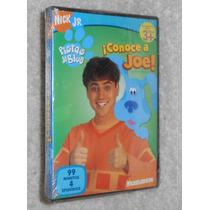 Dvd Pistas De Blue, Conoce A Joe, 100% Original Nickelodeon