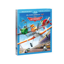 Aviones De Disney Pixar Planes ( Bluray + Dvd ) Nuevo Lbf