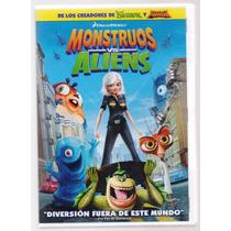 Monstruos Vs Aliens Cine Animacion Dreamworks Dvd