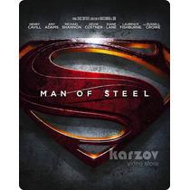 Man Of Steel El Hombre De Acero Steelbook Blu-ray + Dvd + Dc