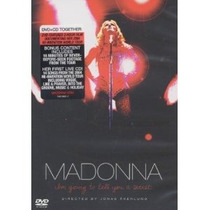 Madonna Im Going To Tell You A Secret (dvd-cd) Nuevo
