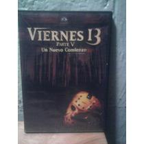 Dvd Viernes 13 Parte 5 Un Nuevo Comienzo Jason Terror Gore
