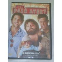 Dvd De La Pelicula:¿que Paso Ayer? 2009 100 Minutos