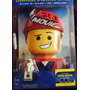 The Lego Movie 3d - Bluray 3d + 2d + Dvd Limited Edition