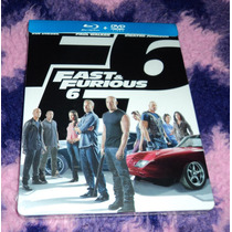 Fast Furious 6 - Bluray + Dvd Steelbook Limited Edition