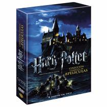 Harry Potter Paquete Colección Completa 8 Películas En Dvd