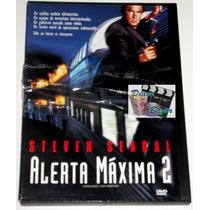Dvd Alerta Maxima 2 (1995) Steven Seagal, Eric Bogosian! Lbf