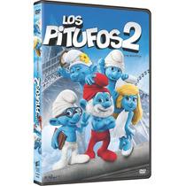 Los Pitufos 2 (dvd) Original Y Nuevo