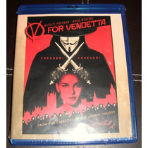 V De La Venganza (v For Vendetta) En Blu-ray