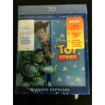 Toy Story 1 ( Bluray + Dvd + Cd De Musica ) Nuevo