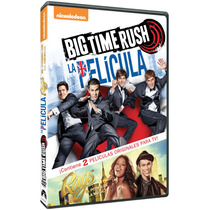 Big Time Rush La Pelicula / Rags (dvd) Nuevo Y Original